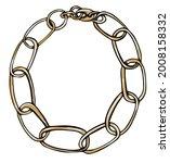 stylish bijouterie and modern... | Shutterstock .eps vector #2008158332