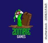 Logo Emblem Hand Of Zombie Rise ...