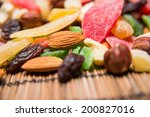 nuts and dried fruits | Shutterstock . vector #200827016