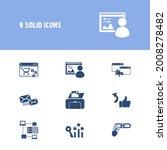 webdesign icon set and print...