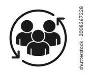 return sign. customer... | Shutterstock .eps vector #2008367228