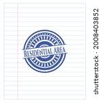 residential area emblem drawn...   Shutterstock .eps vector #2008403852