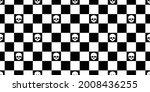 skull halloween seamless... | Shutterstock .eps vector #2008436255