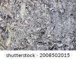 Background Of Gray Ash From A...