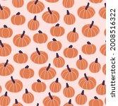 autumn orange and purple... | Shutterstock .eps vector #2008516322