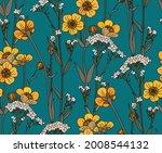 Wildflowers In Vintage Style ...