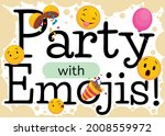 design decorated with balloon  ...   Shutterstock .eps vector #2008559972