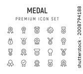 premium pack of medal line...