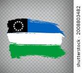 flag rio negro province brush...