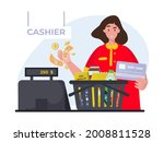 flat illustration of shopping...