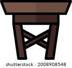 illustration vector icon table...