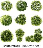 vector of tree top view... | Shutterstock .eps vector #2008944725