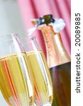 champagne and glass | Shutterstock . vector #20089885