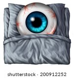 insomnia and sleeping problems... | Shutterstock . vector #200912252