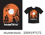 halloween eve t shirt template. ... | Shutterstock .eps vector #2009197172