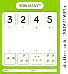 how many counting game with... | Shutterstock .eps vector #2009219345