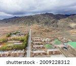 The Town Xitieshan Developed...