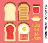 toast bread icon