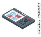 echo sounder gadget icon.... | Shutterstock .eps vector #2009383715