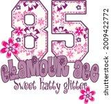 glamour age sweet glitter t... | Shutterstock .eps vector #2009422772