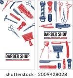 templates vector barber shop... | Shutterstock .eps vector #2009428028