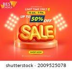 sale poster or banner template...   Shutterstock .eps vector #2009525078