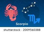 cute cartoon astrology of...   Shutterstock .eps vector #2009560388