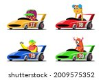 In Speed Racing Game...