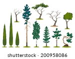 Vector Set Of Different...