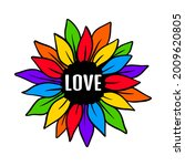 lgbt pride. gay parade. rainbow ... | Shutterstock .eps vector #2009620805