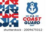 u.s. coast guard day in united...   Shutterstock .eps vector #2009675312