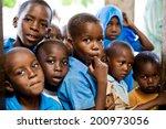 african children in school.... | Shutterstock . vector #200973056