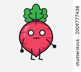 vector illustration of red... | Shutterstock .eps vector #2009777438
