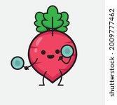 vector illustration of red... | Shutterstock .eps vector #2009777462