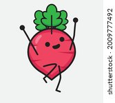 vector illustration of red... | Shutterstock .eps vector #2009777492