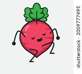 vector illustration of red... | Shutterstock .eps vector #2009777495