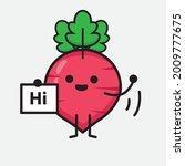 vector illustration of red... | Shutterstock .eps vector #2009777675
