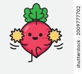 vector illustration of red... | Shutterstock .eps vector #2009777702