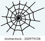 spider net. image isolated on... | Shutterstock .eps vector #200979158