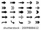 arrows icon. big set of vector...