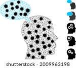 mesh imagination cloud...   Shutterstock .eps vector #2009963198
