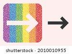 dot mosaic direction arrow...   Shutterstock .eps vector #2010010955