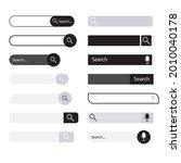 search bar user interface...