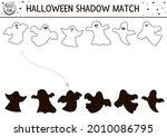 halloween black and white...   Shutterstock .eps vector #2010086795