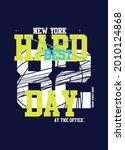 new york best day t shirt... | Shutterstock .eps vector #2010124868