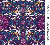 Floral Vector Lovely Pattern I...