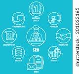 concept of customer...   Shutterstock .eps vector #201032165