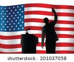 june 26  2014  a vector... | Shutterstock .eps vector #201037058