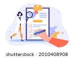 medical checkup concept. doctor ... | Shutterstock .eps vector #2010408908