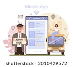 travel agency services online... | Shutterstock .eps vector #2010429572